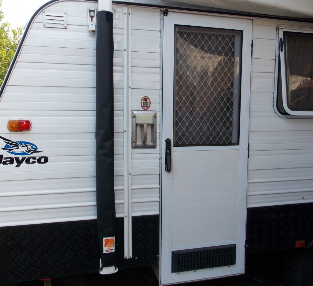 Caravan Awning Arm Cover 750 Gsm Pvc Tonneau Black
